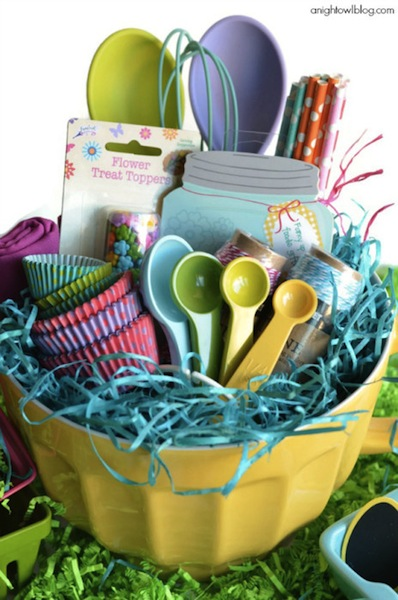 Hottest easter basket fillers saving by design if you have a little baker make sure you include things that they will be able to use like a kids cooking negle Images