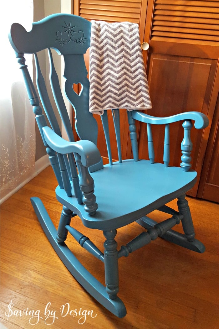 Our Nursery Rocking Chair Was In Need Of A Makeover For Our Third Child.