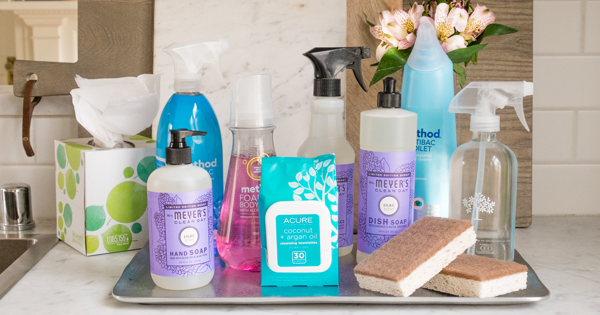 FREE Mrs. Meyer's Spring Cleaning Kit