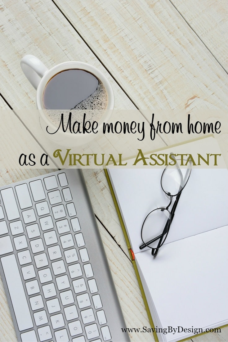 Work at home make money from home as a virtual assistant - How to earn money in home design ...