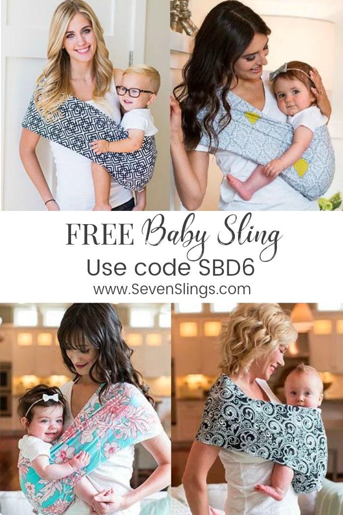free baby stuff - free baby sling