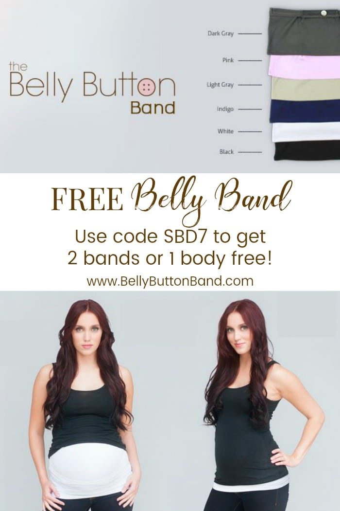 free baby stuff - free belly band
