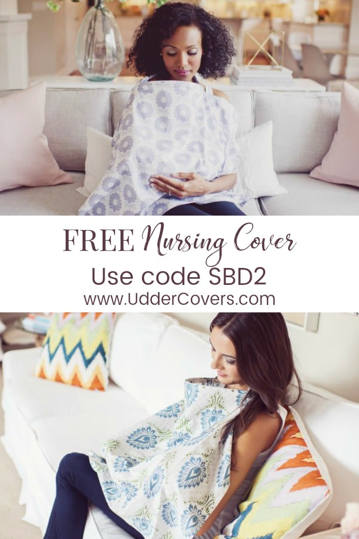free baby stuff - free nursing cover