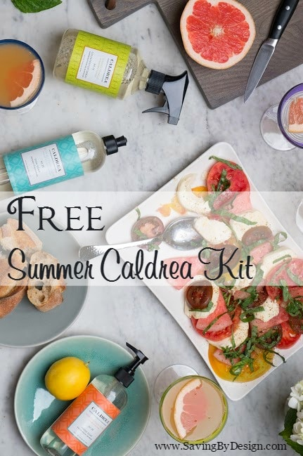 FREE summer Caldrea Kit