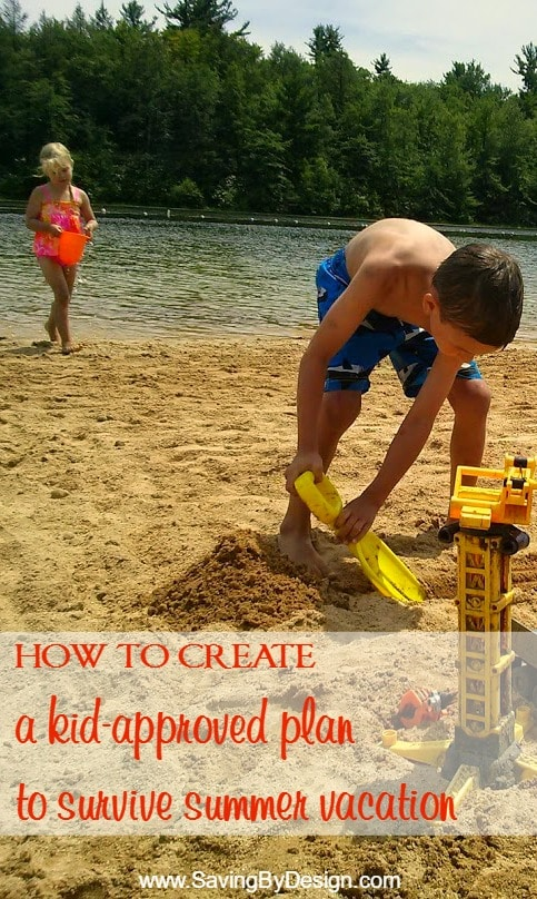 Between sibling fights, what activities to set up, and making sure the kids aren't spending the entire summer in front of the TV, how to survive summer vacation can be a real chore for parents! But with these tips and ideas, you're going to have a great summer vacation!