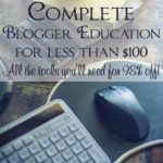 Take your blog to the next level with this complete blogger education full of brilliant tools to help you grow your blog, work smarter, and make more money.