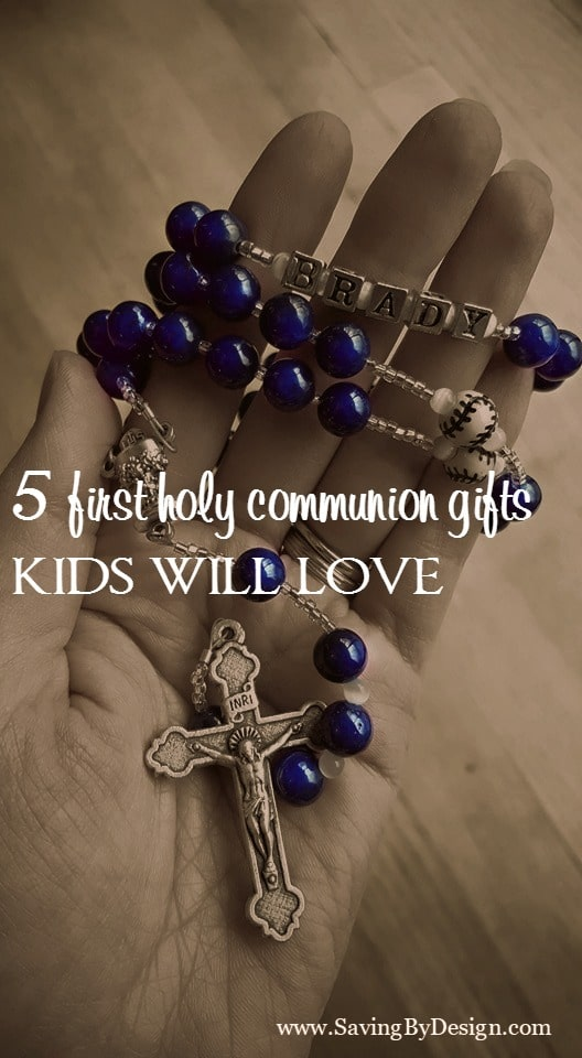 5 First Holy Communion Gifts that Kids