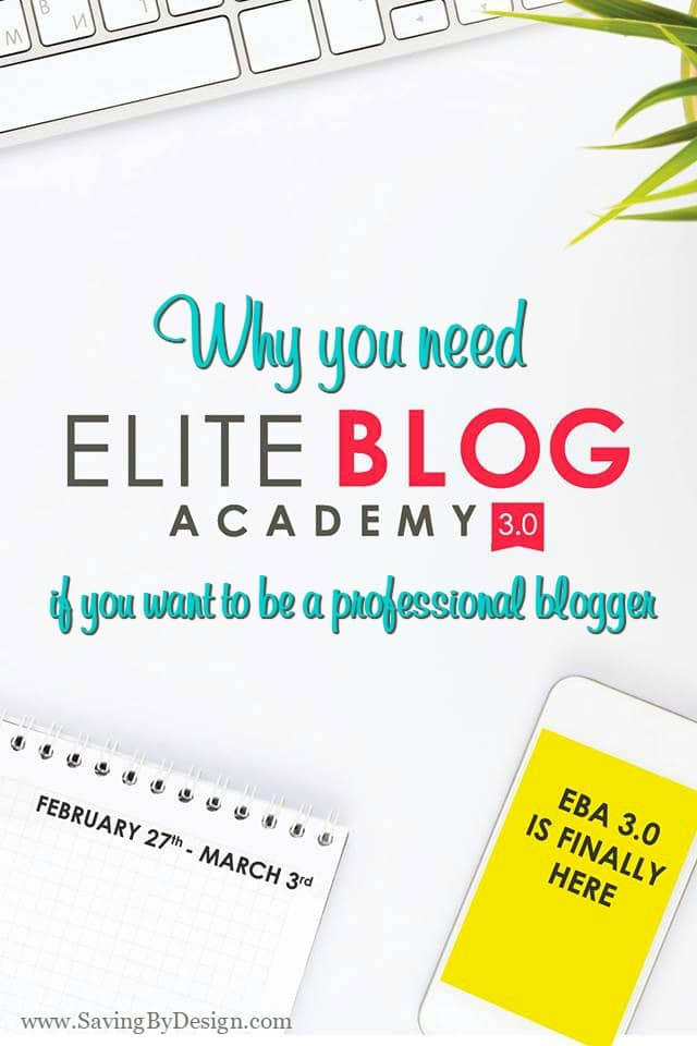 It is very possible to earn a full-time living as a professional blogger. In my opinion, Elite Blog Academy is A MUST to take your blog to the next level.