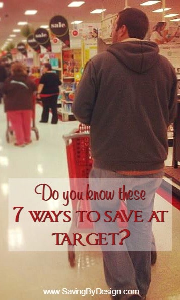Not only does Target carry awesome merchandise, but there are so many ways to get a deal at Target too...make sure you know these 7 ways to save at Target!