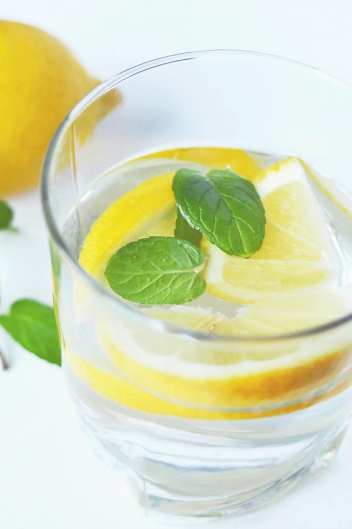 healthy living tips - drink water