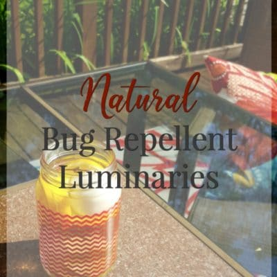Natural Bug Repellent Luminaries – The Perfect Finishing Touch for Your Patio