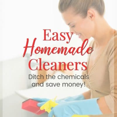 Frugal Homemade Cleaner Recipes – Ditch the Harsh Chemicals and Save Money