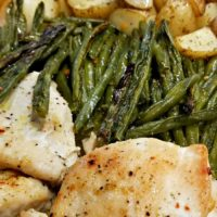 One-Dish Baked Italian Dressing Chicken and Veggies