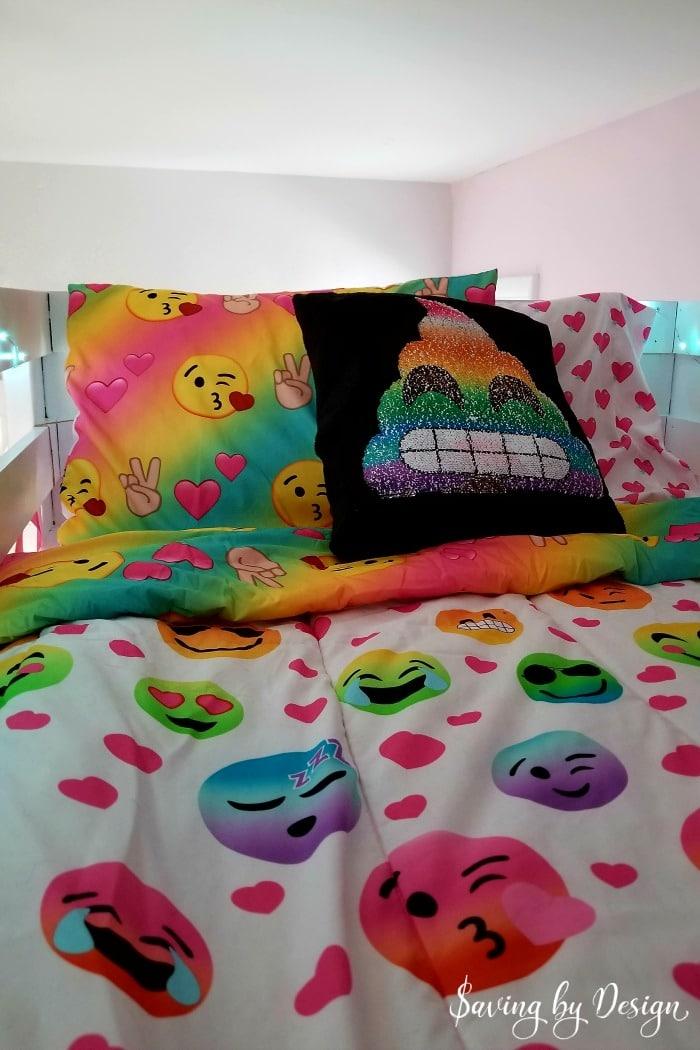 emoji bedding