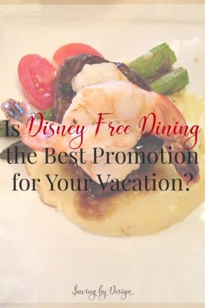 Wondering if Disney free dining is the best promotion for your trip to Disney World on a budget? Here are all the details you need to decide whether free dining or a room discount is the best deal for your family vacation.