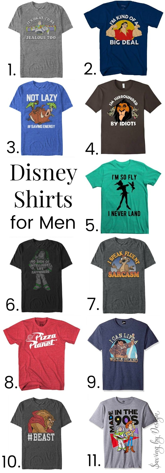 Disney Shirts For Men Fun Disney T Shirts Theyll Actually Want To