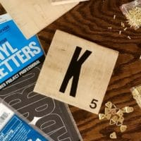 How to Make Scrabble Wall Tiles from a Wooden Pallet