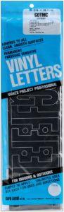 """4"""" vinyl letters for scrabble wall tiles"""